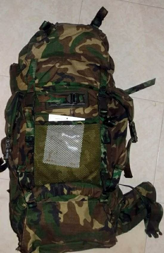 Mochila Altus camuflaje Nueva 100L