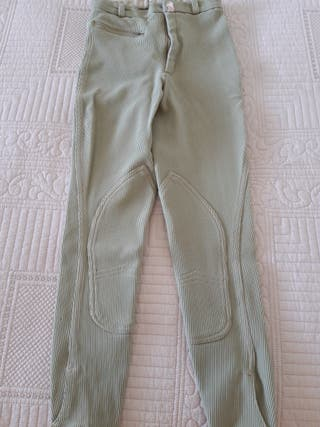 Pantalones hípica niña