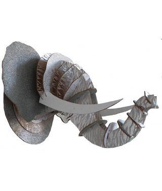 Trophé tête d'éléphant