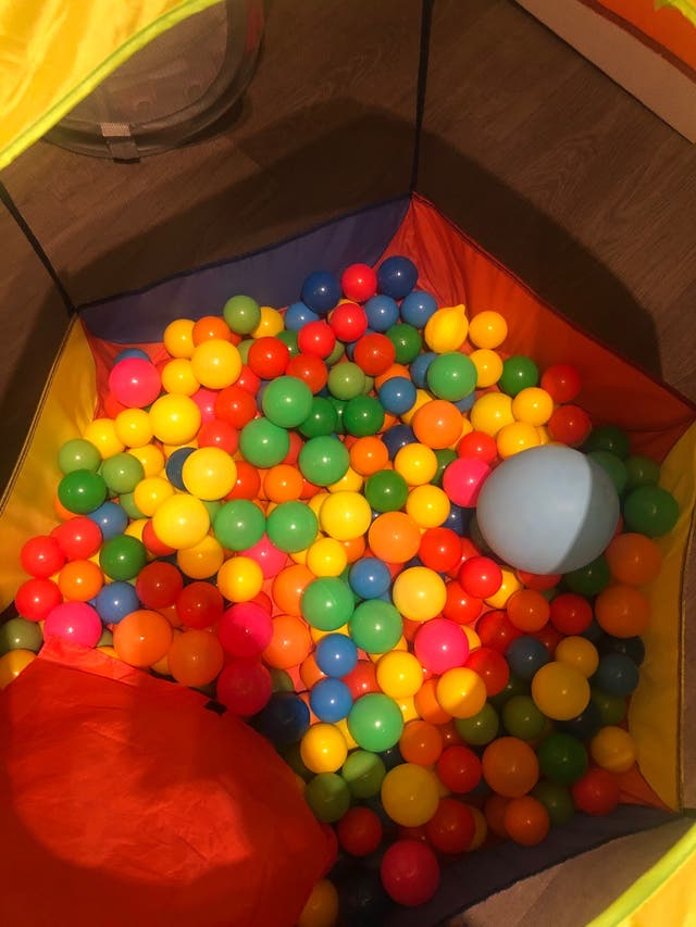 Parque Piscina de Bolas Infantil más de 200 bolas