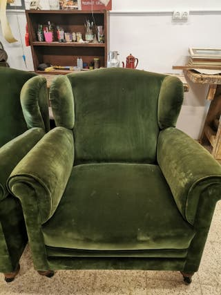 Sillones vintage Ingleses