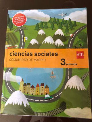 Libro de texto ciencias sociales 3primaria