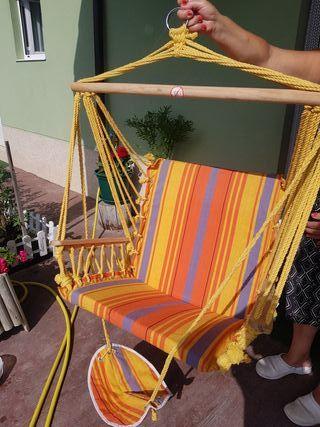 hamaca colgante silla