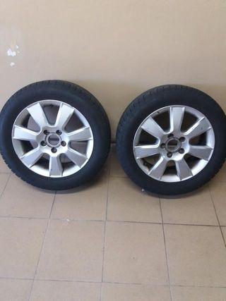 2 Llantas aluminio 205/55R16-REBAJADAS!