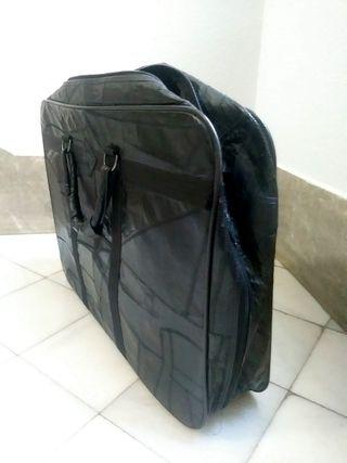maleta de piel