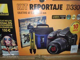 cámara Nikon D 3300