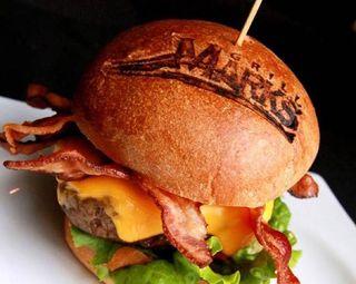 Marcador pan hamburguesa