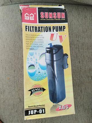 Bomba filtro acuario