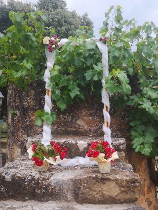 marco fotocall para boda
