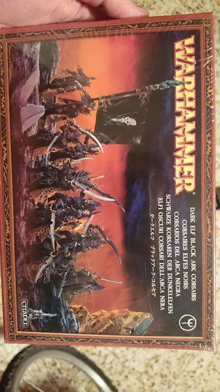 Warhammer Corsarios Elfos Oscuros