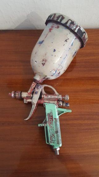 Antigua Pistola Difusora Pintura Victoria