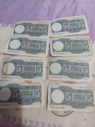 billetes peseta 1949