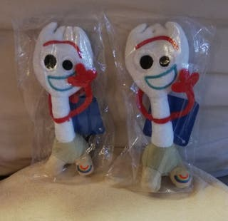 """Peluches oficiales """"FORKY"""", TOY STORY 4. NUEVOS"""
