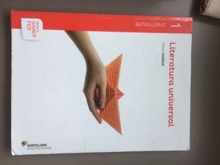 Libro literatura universal 1 batx