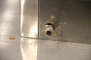 Plancha gas snack acero 65x60x48 cm