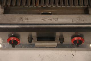 Barbacoa volcánica gas 57x63x33 cm