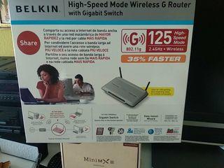 router wireless Belkin