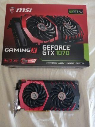 MSI GeForce Gtx 1070 Gaming X