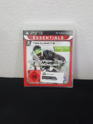 Juego Splinter Cell Blacklist PS3