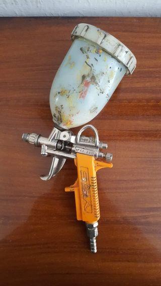 antigua Pistola Difusora Pintura Yris Pequeña