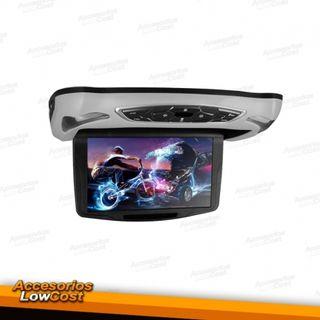 """PANTALLA TECHO 10"""" DVD,ENTRADA DE USB,TARJETA SD"""
