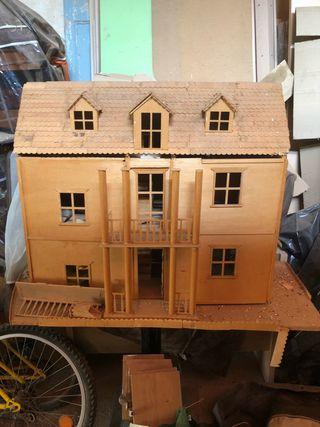 Casa de madera para hacr