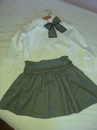 cc9cab41c Blusa blanca niña de segunda mano en la provincia de Asturias en ...