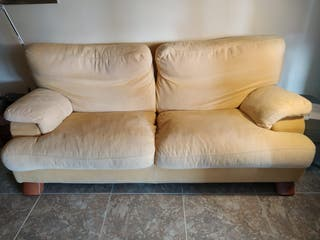 Sofá de tela 220cm