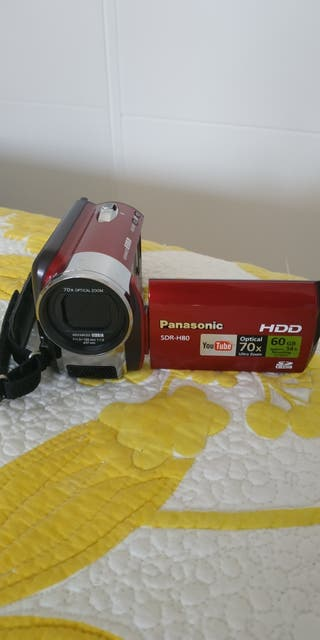 Cámara video Panasonic Sdr-h80