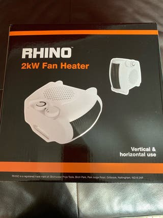 Rhino fan heater