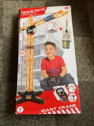Dickies toys construction giant crane