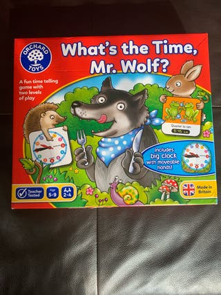 What's the time Mr wolf board game