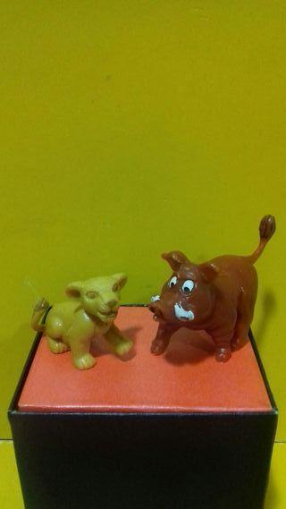 Pumba y Simba PVC