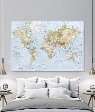 Mapa Fisico 2m.