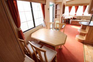 Preciosa mobile home 11x4 m 2 dormitorios