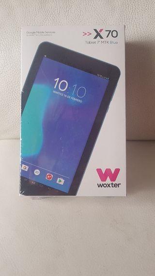 "tablet woxter x70 PRECINTADA! 7"" HDMI"