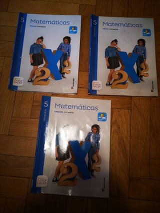 libros de texto 5° de primaria