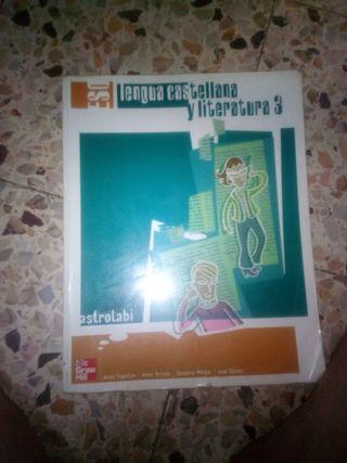 libro de literatura 3 de la eso calidad barato