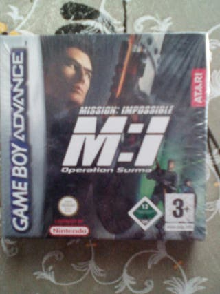 mission: imposible game boy