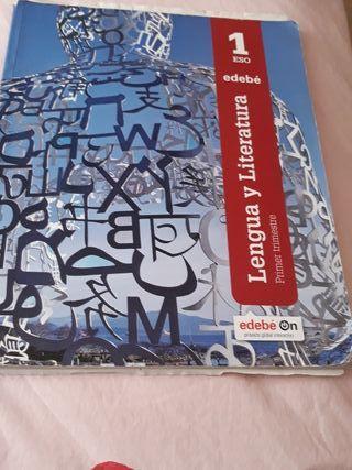 libro lengua literatura edebe,primer trimestre
