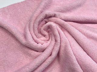 tela de toalla rosa