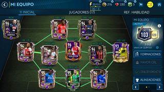 Equipo de Fifa Mobile