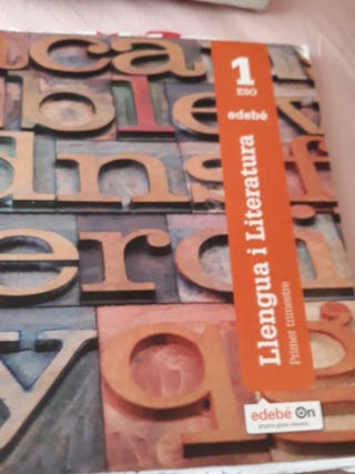 libres llengua i literatura catala ,catalan ,edebe