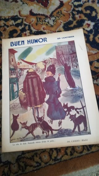 Antigua revista Buen Humor de 1931