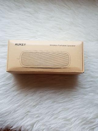 Aukey bluetooth speaker.