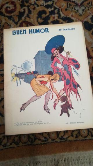 Antigua revista Buen Humor de 14 de junio de 1931