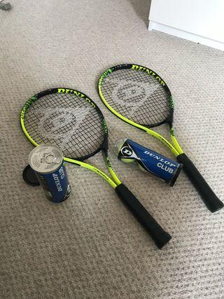 Dunlop 500 + 2 set of 3 balls