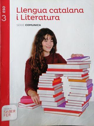 libro Llengua Catalana I Literatura 3 ESO