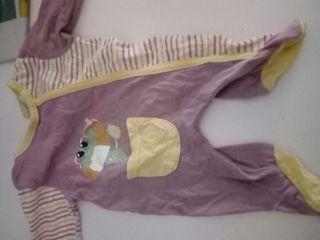 pijama talla 0 mes