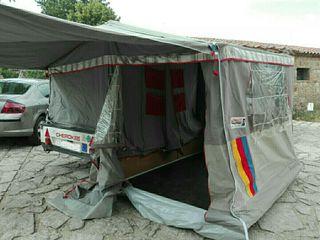 Remolque tienda camping Cherokee